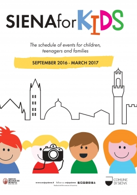 Siena for kids  The schedule of events for children, teenagers and families